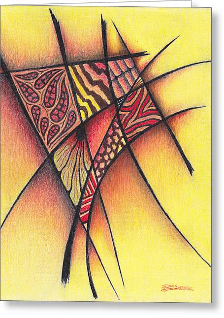 Buck Buchheister Greeting Cards - Life On The Grid Greeting Card by Buck Buchheister