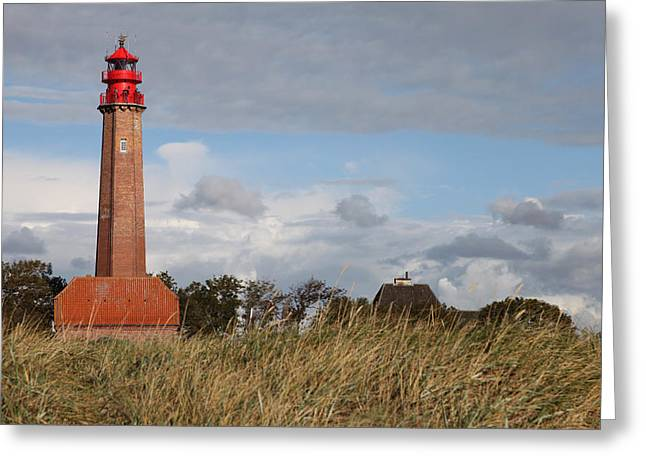 Insel Greeting Cards - Lighthouse Greeting Card by Falko Follert