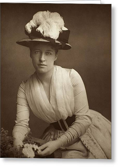 British Celebrities Greeting Cards - Lillie Langtry (1852-1929) Greeting Card by Granger