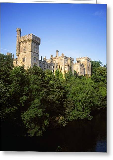 Garden Statuary Greeting Cards - Lismore Castle, Co Waterford, Ireland Greeting Card by The Irish Image Collection