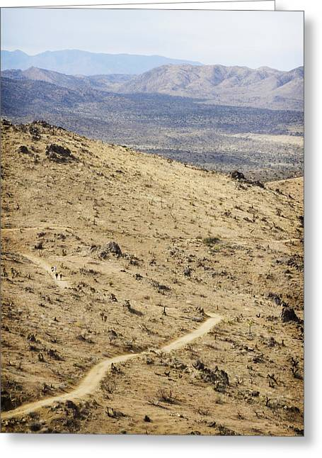 Scorch Trails Greeting Cards - Lost Horse Mine Trail 6 Greeting Card by Jessica Velasco