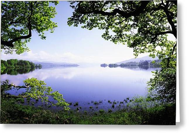 Sligo Greeting Cards - Lough Gill, Co Sligo, Ireland Irish Greeting Card by The Irish Image Collection