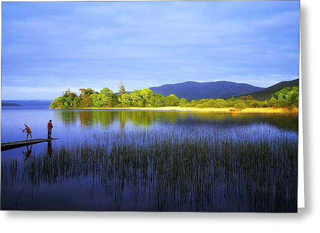 Inland Bodies Of Water Greeting Cards - Lough Gill, Co Sligo, Ireland Greeting Card by The Irish Image Collection