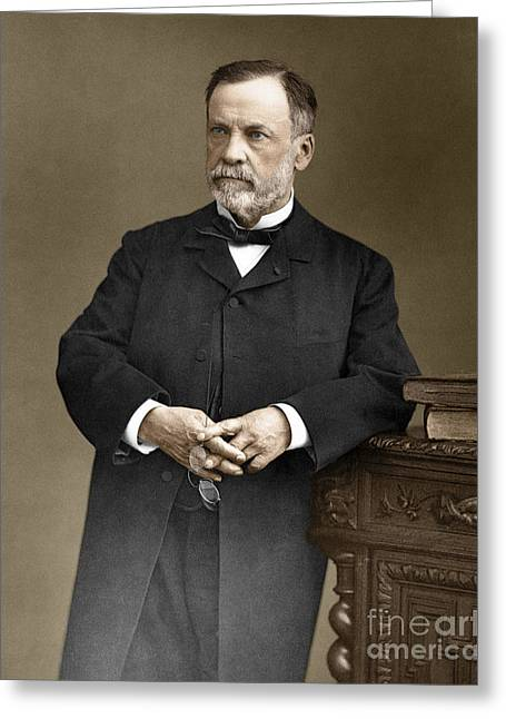 Fermentation Greeting Cards - Louis Pasteur, French Chemist Greeting Card by Omikron