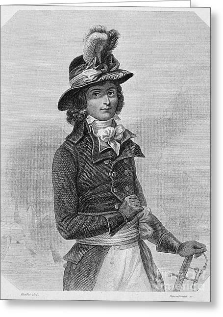 Louis Saint-just (1767-1794) Greeting Card by Granger