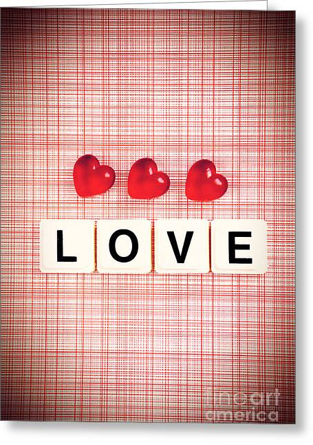 Valentines Day Greeting Cards - Love Greeting Card by HD Connelly