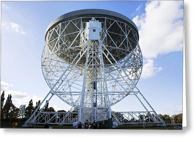 Mark I Greeting Cards - Lovell Radio Telescope Greeting Card by Mark Williamson