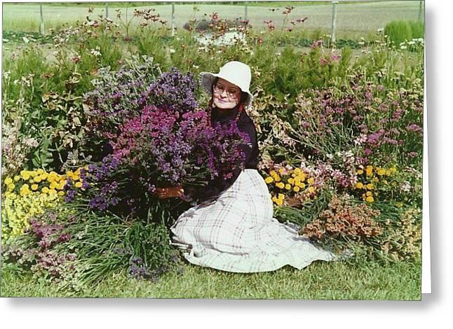 Shirley Sirois   Greeting Cards - Loving Flowers Greeting Card by Shirley Sirois