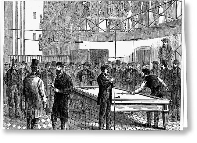 LUDLOW STREET JAIL, 1868 Greeting Card by Granger