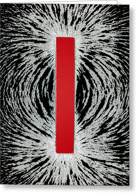 Magnetic Field Greeting Cards - Magnetic Field Greeting Card by Cordelia Molloy