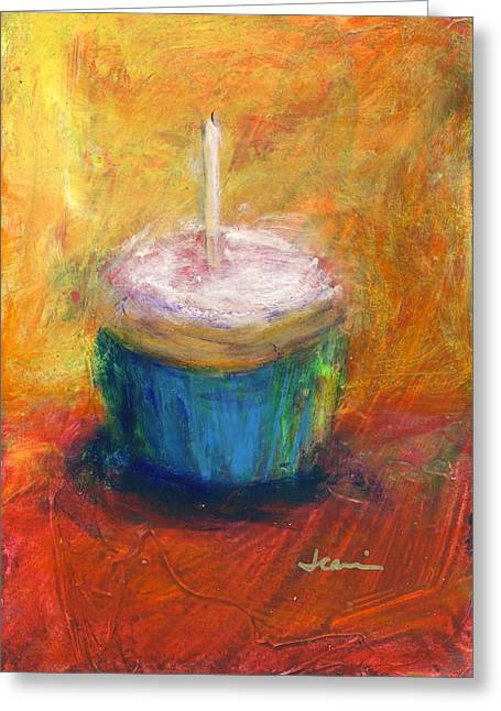 Yummy Greeting Cards - Make A Wish Greeting Card by Jeannine Luke