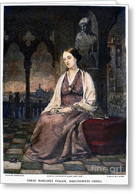 Reformer Greeting Cards - Margaret Fuller Greeting Card by Granger