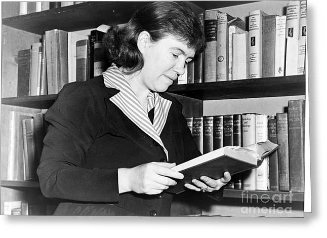 Anthropologists Greeting Cards - Margaret Mead, American Anthropologist Greeting Card by Science Source