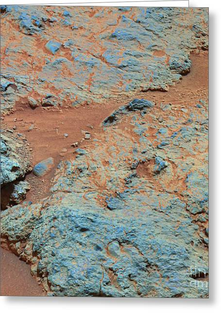 21st Greeting Cards - Martian Surface Greeting Card by NASA / Science Source