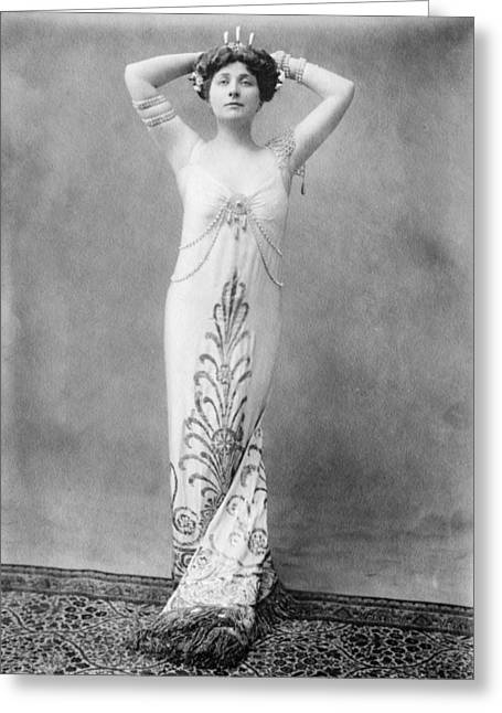 Operatic Greeting Cards - Mary Garden (1874-1967) Greeting Card by Granger