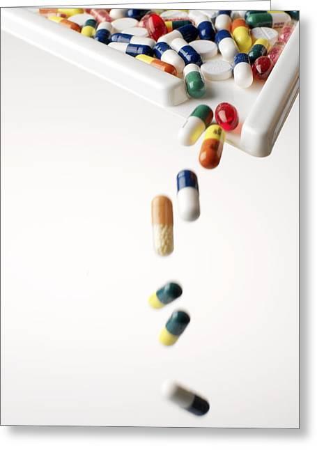 Medication Greeting Cards - Medication Greeting Card by Tek Image