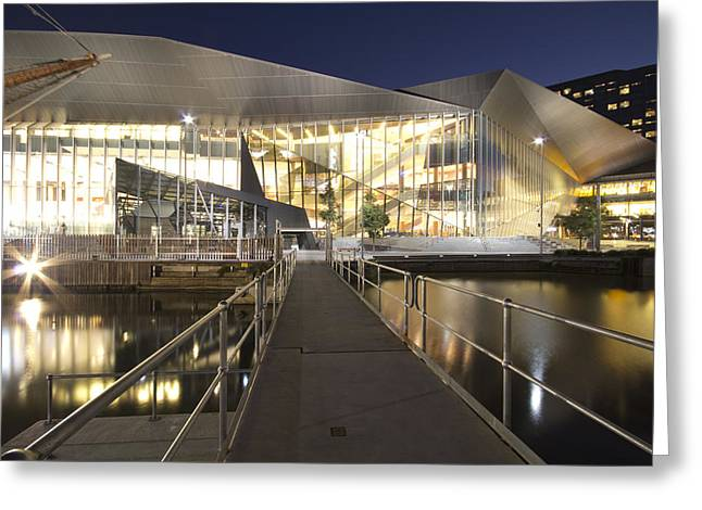 Convention Greeting Cards - Melbourne Convention Center Greeting Card by Douglas Barnard