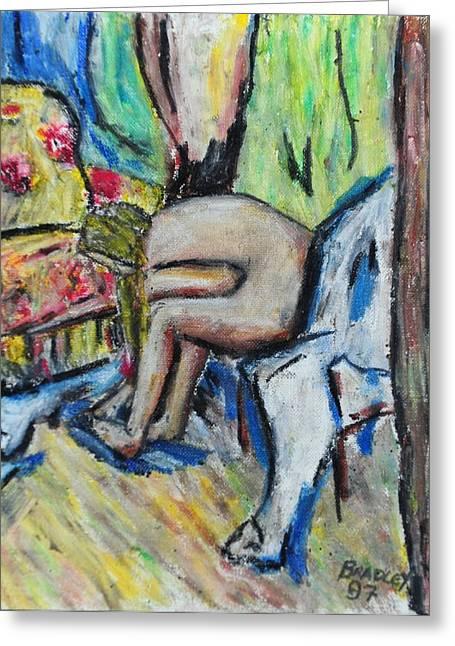 Exotic Pastels Greeting Cards - Mellisa 97 Greeting Card by Bradley