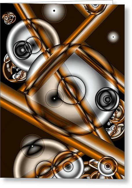 Merging Greeting Cards - Merging Greeting Card by Ron Bissett