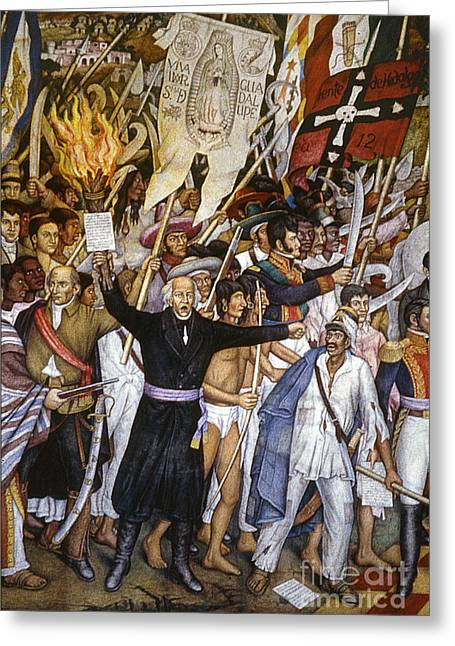 Dolores Greeting Cards - Mexico: 1810 Revolution Greeting Card by Granger