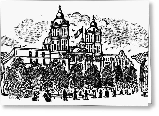 Mexican Revolution Greeting Cards - Mexico: Independence, 1910 Greeting Card by Granger