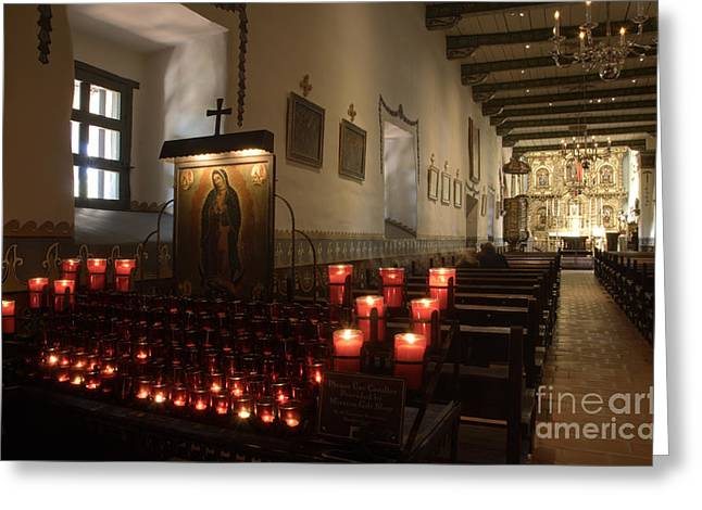 Mission San Juan Capistrano  Greeting Card by Bob Christopher