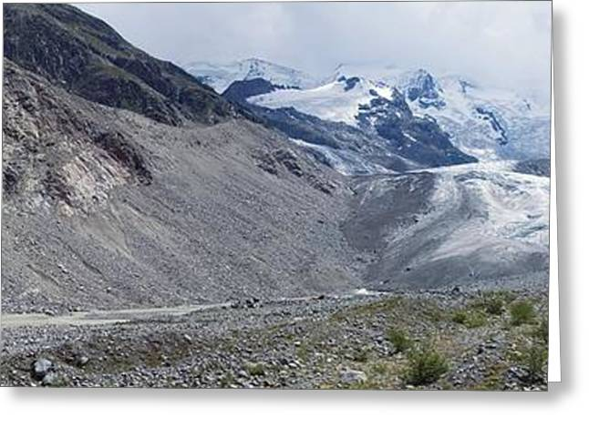 21st Greeting Cards - Morteratsch Glacier, Switzerland Greeting Card by Dr Juerg Alean