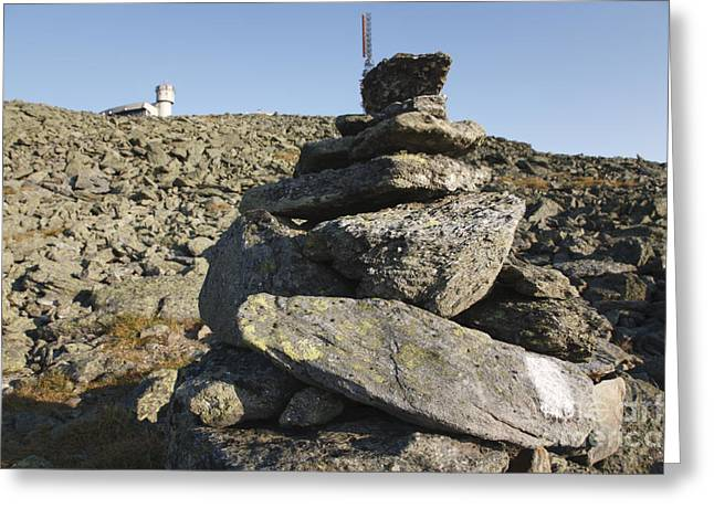 Rock Pile Greeting Cards - Mount Washington State Park - White Mountains New Hampshire USA Greeting Card by Erin Paul Donovan