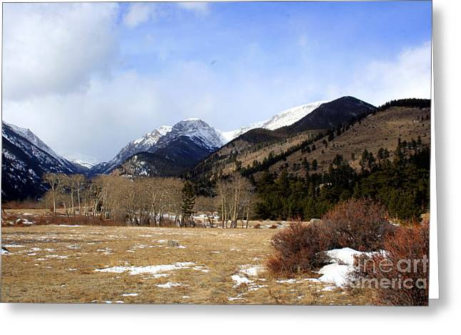 Rocky Mountain National Park Framed Prints Greeting Cards - Mountains Greeting Card by Julie Lueders