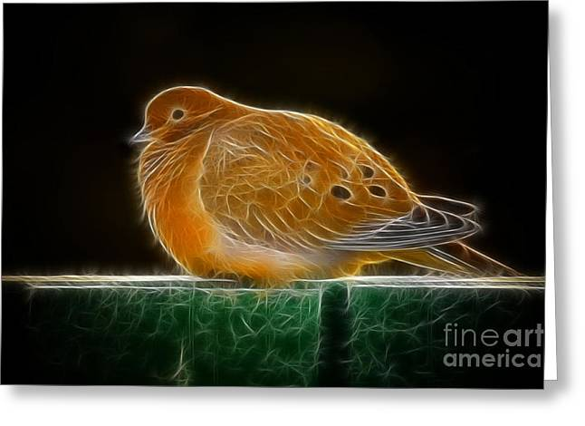 Mourning Dove Greeting Cards - Mourning Dove 2 Greeting Card by Marjorie Imbeau