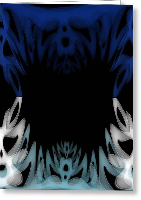 Eyes Greeting Cards - Mouth of the Beast. Greeting Card by Christopher Gaston