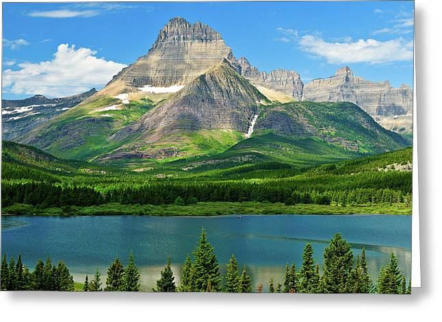 Mt Wilbur Greeting Card by Greg Norrell