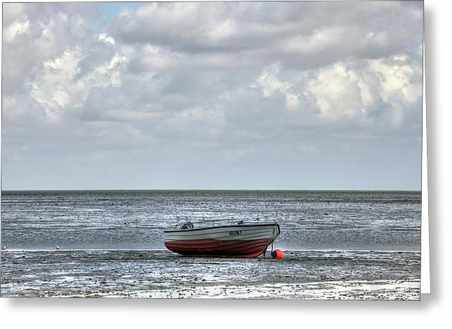 Wadden Sea Greeting Cards - Munkmarsch -  Sylt Greeting Card by Joana Kruse