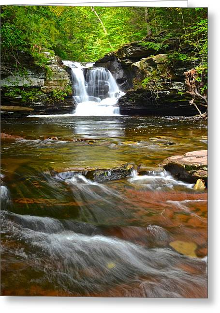 Rugged Terrain Greeting Cards - Murray Reynolds Greeting Card by Frozen in Time Fine Art Photography