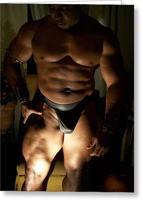 Georgia Bodybuilding Greeting Cards - Muscle Tones Greeting Card by Jake Hartz