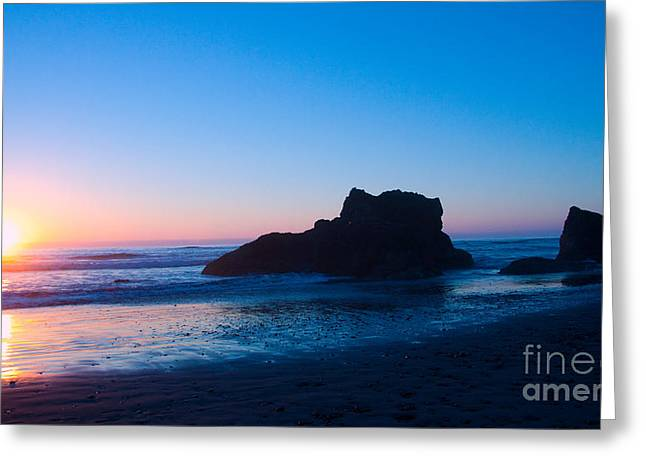 Ocean Greeting Cards - My Sunset Sky Greeting Card by Dana Kern