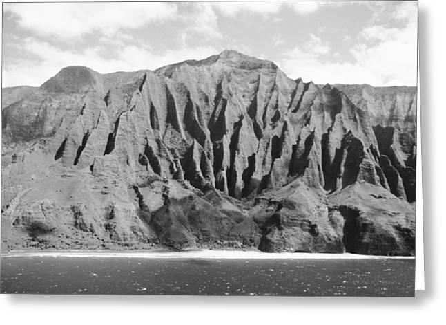 Ocean Art Photos Greeting Cards - Na Pali Coast Greeting Card by Joe Carini - Printscapes