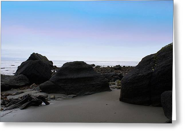 Cape Flattery Greeting Cards - Neah Bay Greeting Card by Christy Leigh