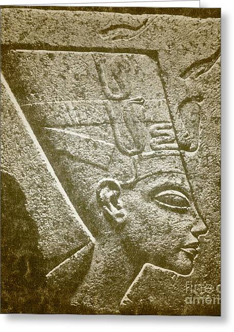 Queen Consort Greeting Cards - Nefertiti, Ancient Egyptian Queen Greeting Card by Science Source