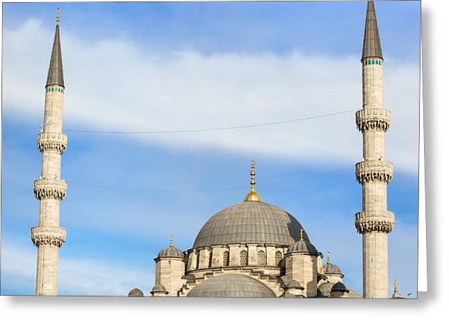 New Mosque in Istanbul Greeting Card by Artur Bogacki