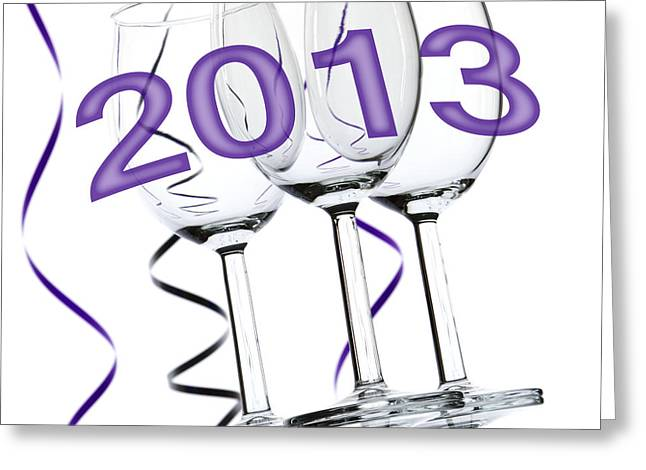 New Year 2013 Greeting Card by Blink Images