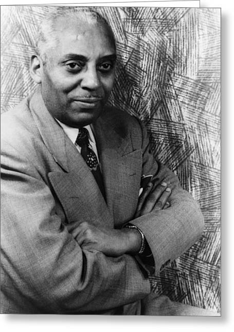 Bandleader Greeting Cards - Noble Sissle (1889-1975) Greeting Card by Granger