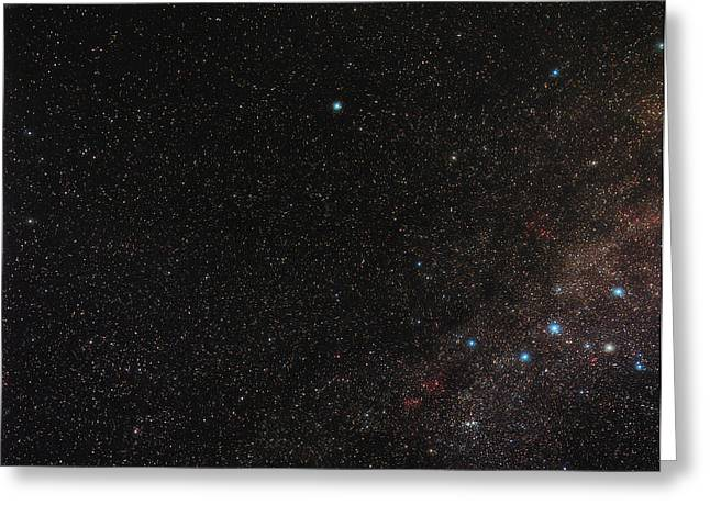 North Celestial Pole Greeting Card by Eckhard Slawik