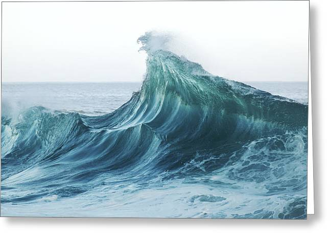 Vince Greeting Cards - North Shore Wave Greeting Card by Vince Cavataio - Printscapes