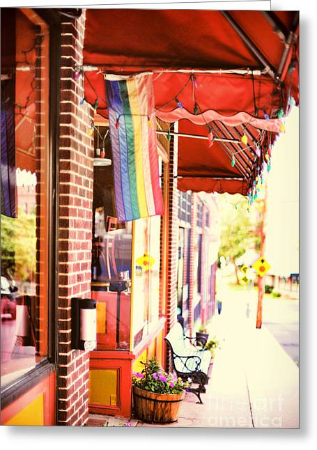 Small Towns Greeting Cards - Northampton MA Greeting Card by HD Connelly