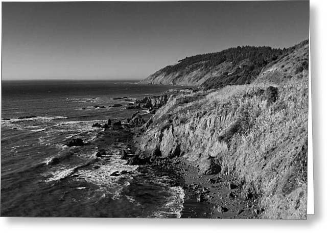 Pch Greeting Cards - Northern California Coast Greeting Card by Twenty Two North Photography