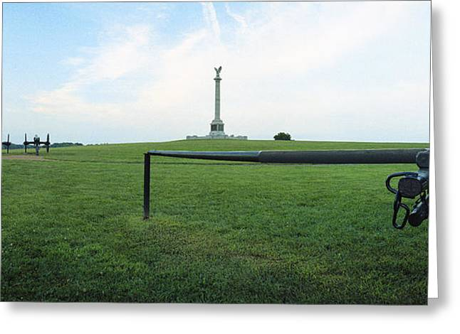 Ny Monument Antietam Greeting Card by Jan W Faul