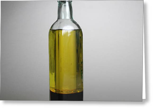 Oil And Vinegar Greeting Card by Photo Researchers