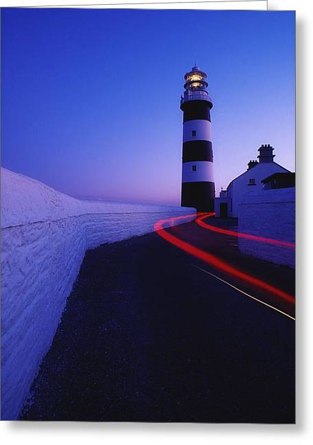 Old Roadway Photographs Greeting Cards - Old Head Of Kinsale, Kinsale, County Greeting Card by Richard Cummins