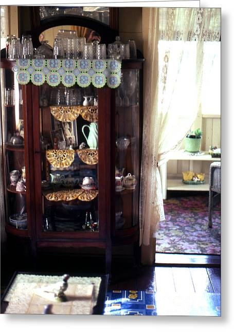 Linoleum Photographs Greeting Cards - Old Home in Panama Greeting Card by Erik Falkensteen